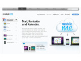 Bild: Apple entwickelte den Synchronisationsdienst MobileMe mit dem Framework SproutCore. Als Alternative für Flash könnte das Unternehmen die Umgebung Gianduia einsetzen.Bild: Screenshot