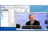 Bild: Die AverTV-Software auf dem Mac - Fernsehbild und Menü..