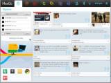 Bild: Die Beta von Fedora Core 14 beinhaltet MeeGo Netbook UX.