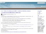 Bild: In einem Blog-Eintrag weist Microsoft auf seinen Juni-Patchday hin. Bild: Screenshot