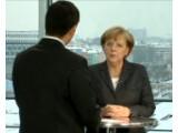 Bild: Bundeskanzlerin Angela Merkel skizziert in einer Videobotschaft ihre Vision einer künftigen Netzpolitik.