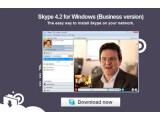 Bild: Die Businessversion von Skype enthält Features wie den Windows Installer (MSI) und lässt sich daher leichter auf mehreren Arbeitsplätzen im Unternehmen installieren. Das Telefonieren oder Austauschen von Kurznachrichten ist kostenlos, ebenso wie Video-
