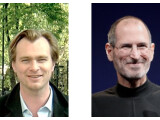 Bild: Christopher Nolan und Steve Jobs sind die wohl geheimnisvollsten Köpfe der Filmbranche.