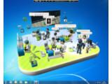 Bild: Club Cooee: Aus dem Microsoft Live Messenger wird ein 3D-Chat. Bild: Microsoft
