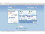 Bild: Meebo: Umfangreiches Angeboten an Diensten und Protokollen im WWW.