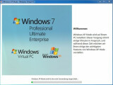 Bild: Der Einrichtungsassistent hilft bei der Installation des XP-Modus.
