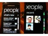 Bild: Erste Eindrücke von Windows Phone 7: Das neue mobile Betriebssystem soll im Herbst erscheinen, integriert ist das Onlinenetzwerk Xbox live. Bild: netzwelt