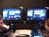 Bild: F1 2010 auf der Gamescom 2010: Besucher konnten den Titel in standesgemäßer Sitzposition anspielen.