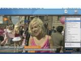 Bild: Fernsehen mit dem USB-Stick Tubestick und dem Programm The Tube auf einem Mac-Rechner.