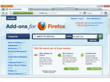 Bild: In der Firefox-Version 4.0 lassen sich Add-Ons ohne Neustart des Programms installieren. Das sehen zumindest erste Pläne für die nächste Generation der Software vor. Bild: Screenshot