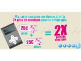 Bild: Der französische Staat verdoppelt den Betrag der Musikkarte.