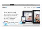 Bild: Gerücht: Apples MobileMe-Dienst soll kostenlos werden. Bild: Screenshot