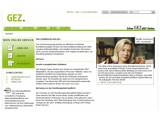 Bild: GEZ: Ab 2013 wird die Rundfunkgebühr pro Haushalt fällig. Bild: Screenshot