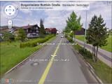 Bild: Google Street View: Nutzer können sich in Oberstaufen umsehen.