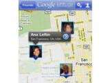 Bild: Googles Latitude gibt es nun auch als App für iPhone und Co.
