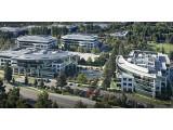 Bild: Das Hauptquartier des Smartphone-Herstellers Palm in Sunnyvale, Kalifornien.