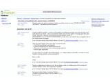 Bild: Hilfeforum von Google zum Android Market: Klage über nicht gestartete Downloads. Bild: Screenshot