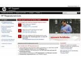 """Bild: HP-Reparaturservice: Note """"gut"""" von der Stiftung Warentest. Bild: Screenshot"""