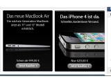 Bild: Das iPhone 4 gibt es bald auch bei Apple direkt zu kaufen.
