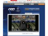 """Bild: Kooperation mit """"ran.de"""": Das Videoportal """"MyVideo.de"""" zeigt Champions und Europa League-Begegnungen kostenlos per Livestream in HD-Qualität. Bild: Screenshot"""
