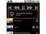 Bild: Die Leanback Oberfläche von YouTube lässt sich nun auch via Smartphone steuern.
