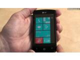 Bild: LG wird mit dem Optimus 7 neben HTC das erste Windows Mobil 7 Smartphone auf dem Markt bringen.