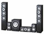 Bild: Das Magnat-Set ist trotz simpler Folienoberfläche gut verarbeitet. Die Lautsprecher sind in den Farben Schwarz und Nussbaum erhältlich. ( Bildquelle: netzwelt )