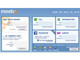 Bild: Meebo erlaubt als Anroid-App den Login in zahlreichen Instant-Messenger-Netzen.