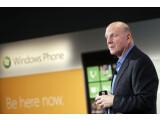 Bild: Microsoft-Chef Steve Ballmer hofft mit Windows Phone 7 auf einen Erfolg im heiß umkämpften Smartphone-Markt. Dafür unterstützt Microsoft nun auch Mac OS X.