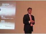 Bild: Microsoft-Geschäftsführer Ralph Haupter beim Produkt-Launch von Office 2010 in München.
