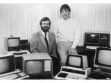 Bild: Die Microsoft-Gründer Paul Allen (links) und Bill Gates auf einem Foto aus dem Jahre 1981.