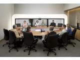 Bild: Moderne Telepresence-Lösungen wie die von Cisco ermöglichen Mitarbeitern sich in einer Art virtuellem Konferenzraum zu treffen.