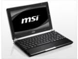 Bild: MSI Wind U160: Das Netbook soll bis zu 15 Stunden mit einer Akkuladung arbeiten können .
