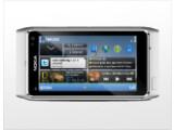 Bild: Das neue Smartphone-Flaggschiff N8 von Nokia zeigt sich vielseitig und integriert unter anderem Internet TV und Funktionen fürs soziale Netzwerke.