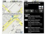 Bild: Die neue Version 4.3 von Google Maps für Android-Smartphones zeigt die Fahrpläne der öffentlichen Verkehrsmittel an.
