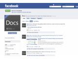 """Bild: Neues Online-Office: Microsoft stellt """"Docs"""" für Facebook vor. Bild: Screenshot"""