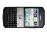 Bild: Das Nokia E5 Businesshandy in schwarz.
