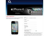Bild: O2 und Vodafone bieten bereits die Möglichkeit sich als Interessent für das iPhone 4 zu registrieren.