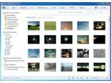 Bild: Die Programmoberfläche von Windows Live Fotogalerie.