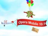 Bild: Opera Mobile 10.1 steht nun auch im Android-Market zum Download bereit.