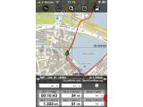 Bild: Auf einer professionellen Oberfläche zeigt Outdoor Pro auf dem iPhone seine Stärken in der Navigation für Radfahrer und Wanderer.