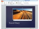 Bild: Powerpoint erlaubt jetzt auch das Schneiden von Videos.