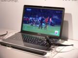 Bild: Der Prototyp des Vario 3D-Laptops war auf der IFA nur hinter Glas zu sehen.