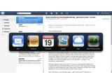Bild: Der Push-Dienst MobileMe sorgt für die automatische Synchronisation von Apple-Geräten über das Internet.