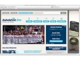 Bild: Die Radio-Seite Detektor.fm setzt als eine der wenigen Webseiten aus Deutschland bereits auf HTML 5