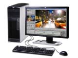 Bild: Rechenleistung ohne Ende: Workstations wie HPs xw6600 könnten das Vorbild für künftige PCs abgeben, die nur noch für anspruchsvolle Aufgaben gebraucht werden.