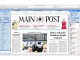Bild: Auch Regionalzeitungen, wie die Mainpost, bieten E-Paper an.