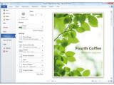 Bild: Ein Screenshot des neuen Word 2010.