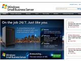 Bild: Der Small Business Server (SBS) soll auch kleinere Betriebe mit weniger als 25 Mitarbeitern den Weg ins Cloud Computing ebnen. Das Bild zeigt die Website für den SBS.