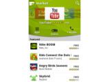 Bild: So sieht künftig die Startseite des Android-Market aus.